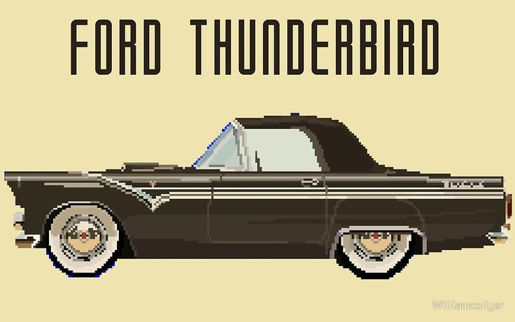 Ford Thunderbird Design by Williamcollyer