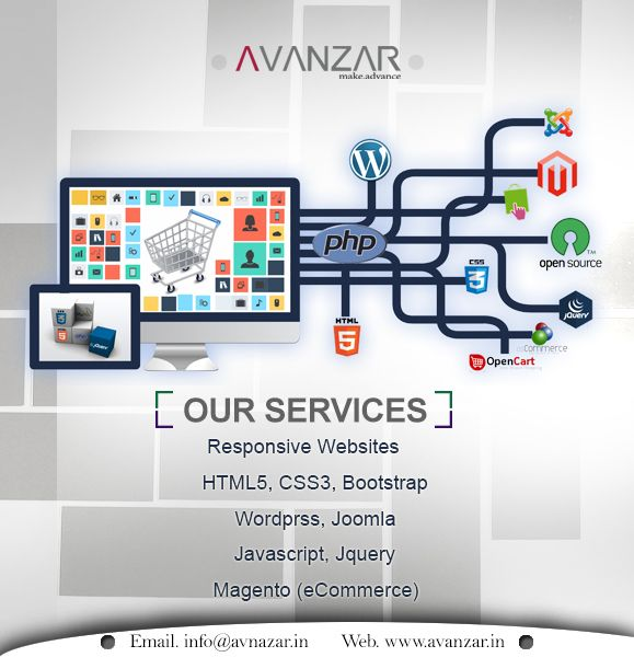 Web Designing Company in Ahmedabad INDIA since 2000, offers Web Services, Website Design, Web Development, Ecommerce Development, PHP Development, SEO Marketing Services, Google Adwords, PPC Management Services, Social Media Marketing, PSD to HTML, Wordpress, Magento, CMS Website, Custom Web Application Development, Shopping cart integarion along with Domain registration and Web hosting solutions. Contact us now.
