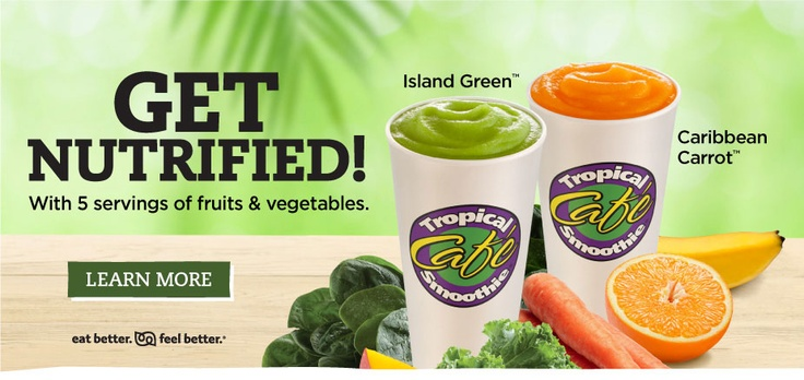 Tropical Smoothie Cafe in Glen Mills, PA serves vegan food!