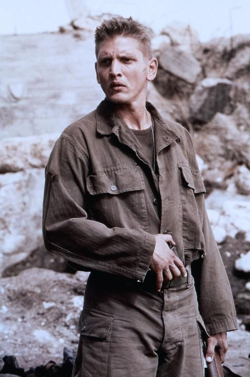 Barry Pepper as Private Daniel Jackson from Saving Private Ryan.