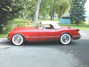 1954 Chevy Corvetter Roadster