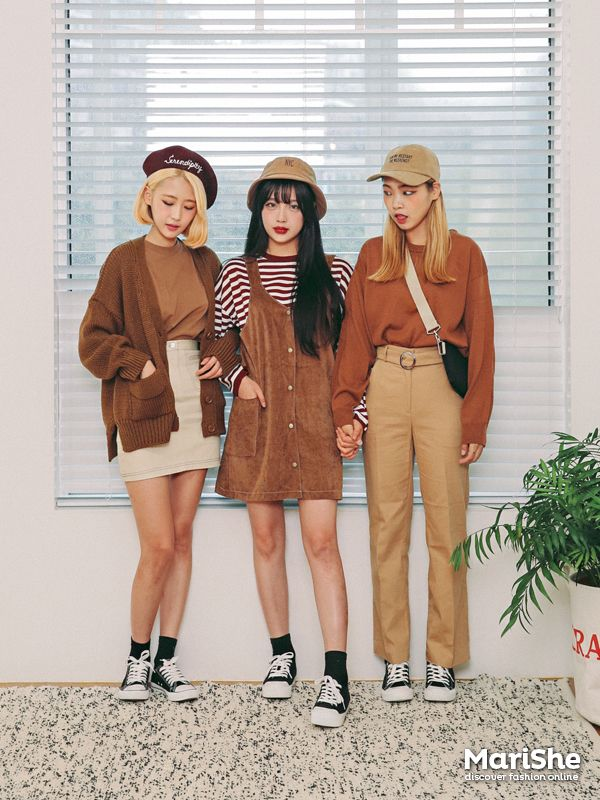 #korean, #fashion, #autumn, #marishe
