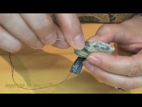 ▶ Zaubernaht - unsichtbare Naht - Matratzenstich - Leiterstich - YouTube