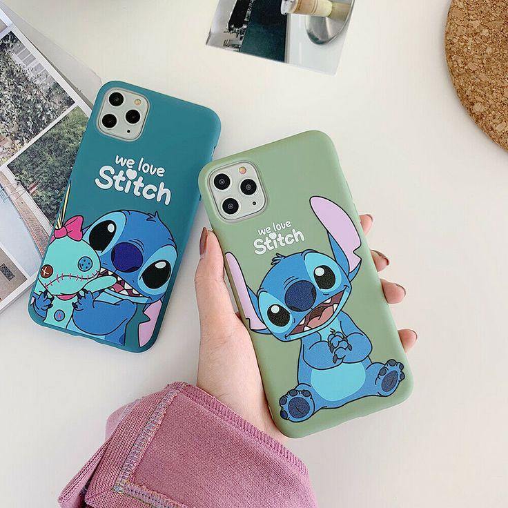Cute cartoon stitch soft unbreak phone case cover for