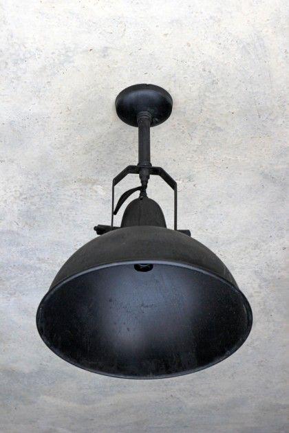 Giant Black Warehouse Ceiling Light