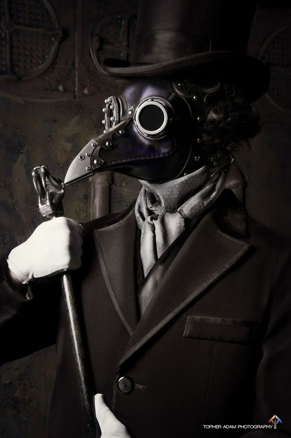 Plague doctor mask. love this.