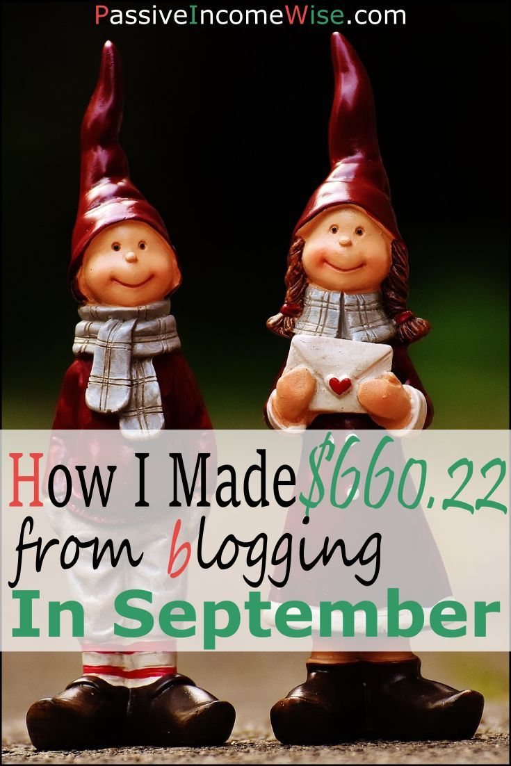 This month I made $660.22 as extra money. This income comes from my blog and it feels great!