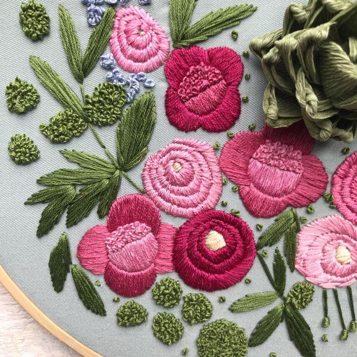Embroidered Garden by Ovo Bloom