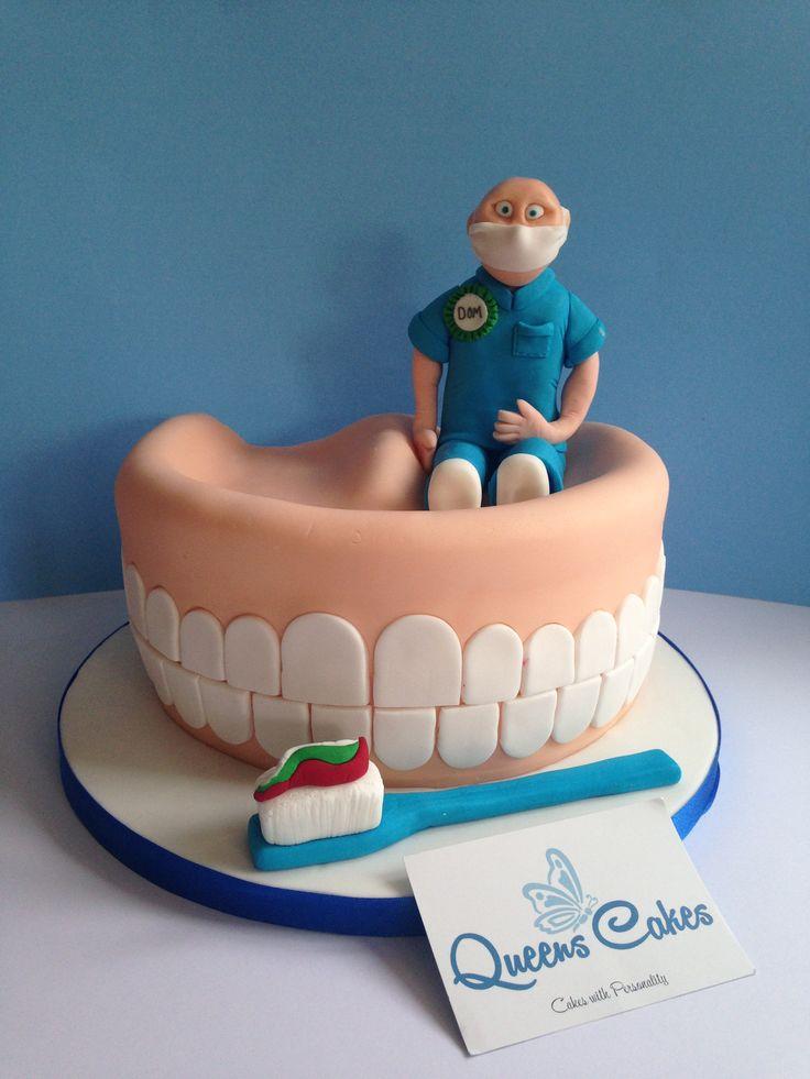 Dentur Cake... www.queenscakes.co.uk