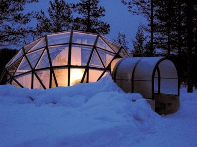 Geodesic Dome Glass Igloo Hotel Kakslauften In Finland. Dome Glass Igloos  Offer Clear View Of The Northern Nights. These Igloos Have A Huge Demand.