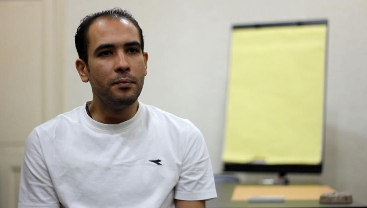 Rights lawyer Malek Adly was arrested against the backdrop of anti-government protests rejecting the Egyptian-Saudi maritime border demarcation agreement. (Nada Amr/ Mahmoud Nasr)