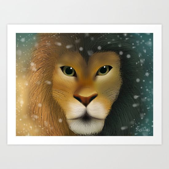 Aslan Art Print by BellaG - $16.64