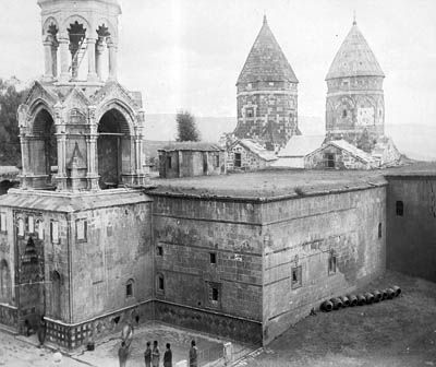 The Armenian Monastary of St. Garabed, Bitlis (4th century, fully destroyed in 1915 by the Turks)