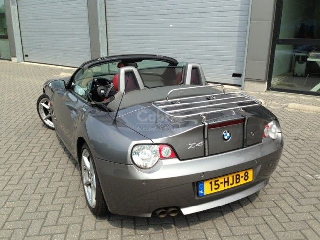 BMW Z4 E85 Roadster Luggage Rack 2003-2009 * BMW * Luggage Racks * Luggage & Ski & Bicycle Racks | Cabrio Styling & Supply
