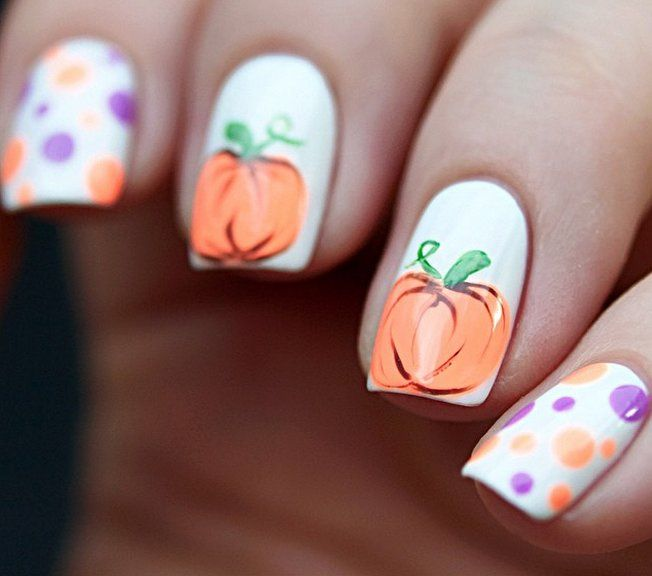 Best 25 pumpkin nail art ideas on pinterest halloween nail art carve out time to do these pumpkin nail art looks prinsesfo Choice Image