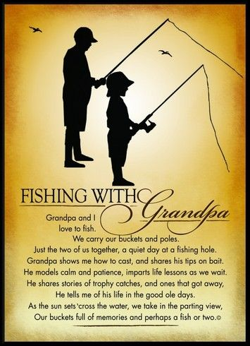 Fishing with Grandpa...  Why you should take a child fishing! It's not just about catching fish:). www.bestbuddyfishing.com