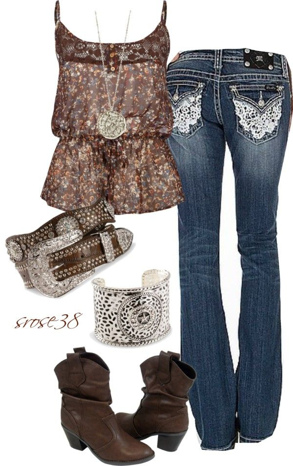 """Nashville Star"" by srose38 ❤ liked on Polyvore ~~country fashion~~"