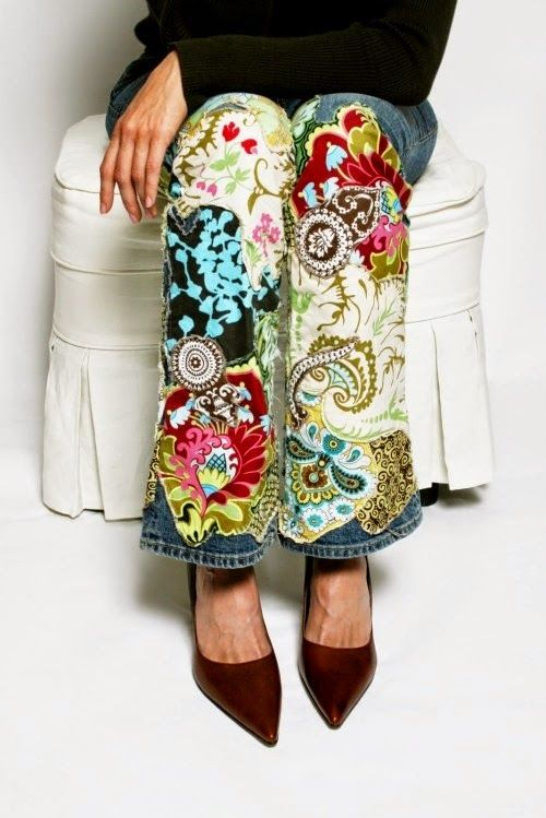 Best 25 embroidery on jeans ideas on pinterest embroidery on selvage blog jeans for fabric lovers ccuart Gallery