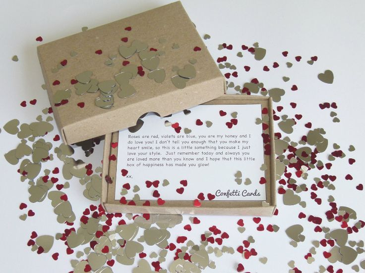 24 best confetti cards now available images on pinterest let that special person in your life know that not a day goes by when you arent thinking of them send your beloved a confetti card filled with heart publicscrutiny Image collections