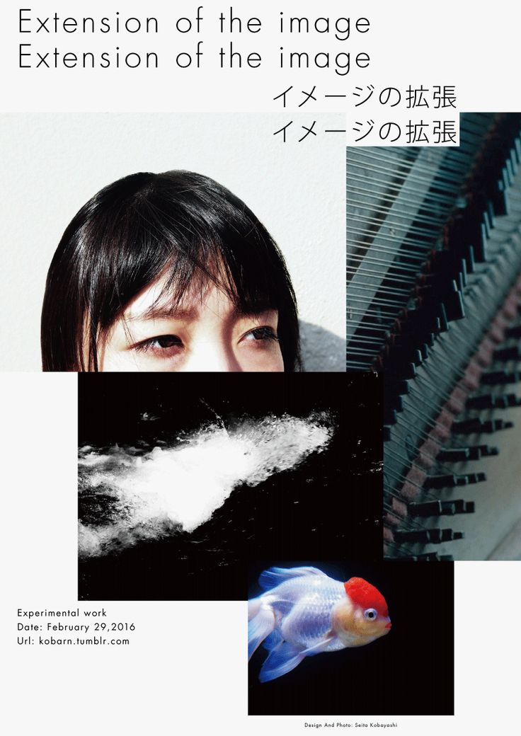 Extension of the Image - Seita Kobayashi