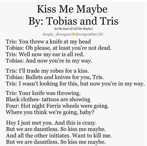 Kiss Me Maybe By: Tobi...