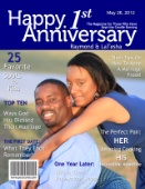 Unique Graduation Gifts - Personalized Fake Magazine Covers from -YourCover-$20.00