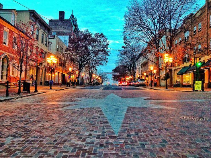Downtown Bethlehem, Pennsylvania