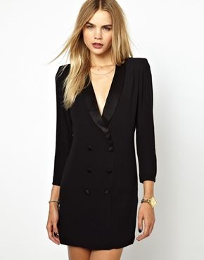 BA&SH Tuxedo Dress - actually want this, but way too expensive :(