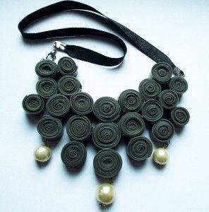 necklace from exercice ball.
