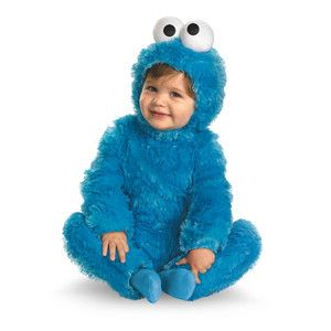 6 month old boy halloween costumes | Toddler Cookie Monster Costume Boys Girls Infant Halloween Sesame ...