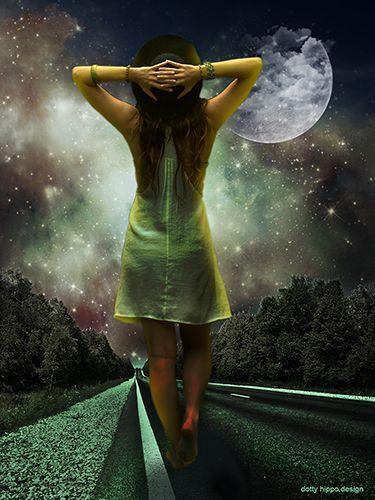 Moonlight girl