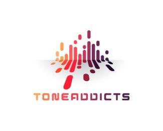 ToneAddicts Logo design - useful ideas<br /><br />a music app<br…