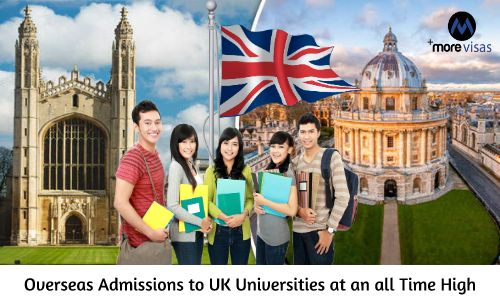 Overseas Admissions to UK Universities at an all Time High. Read More... https://goo.gl/G6m8zb #MoreVisas #UKUniversities #UKStudentVisa #StudyInUK #internationalstudents https://www.morevisas.com/immigration-news-article/overseas-admissions-to-uk-universities-at-an-all-time-high/5354/