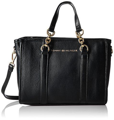 New Trending Shopper Bags: Tommy Hilfiger Emilia Small Leather Shopper, Black. Tommy Hilfiger Emilia Small Leather Shopper, Black  Special Offer: $59.13  444 Reviews Get work-to-weekend chic with a classic Tommy Hilfiger shopper defined by clean lines and styled in your choice of matte or metallic pebble leather for a touch of luxe. A long strap is included for...