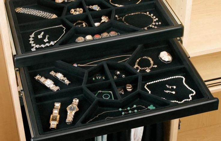 1000 Ideas About Jewelry Drawer On Pinterest Closet