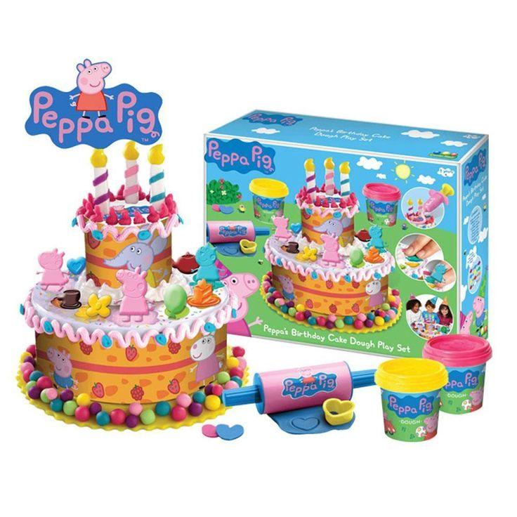 Peppa Pig PEPP003 Kids/Children Birthday Cake Dough Play Game Set New | Toys & Hobbies, Educational, Other Educational Toys | eBay!
