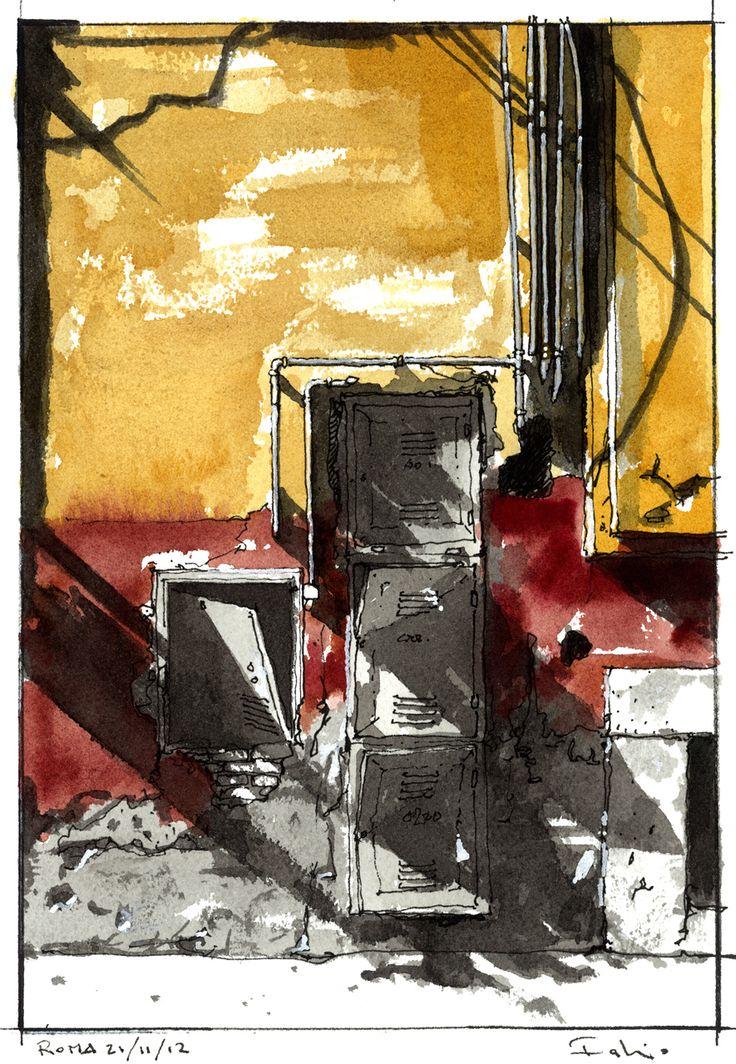 Art and Architecture: Il Senso delle Cose, Illustrations by Fabio Barilari