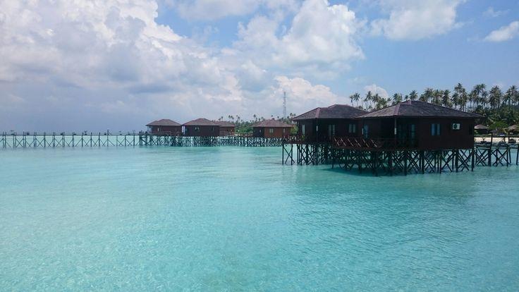 Maratua Island Water Cottage, East Borneo, Indonesia