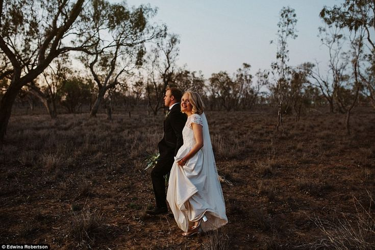 Wedding photographer, Edwina Robertson, decided to generate awareness of the severity of d...
