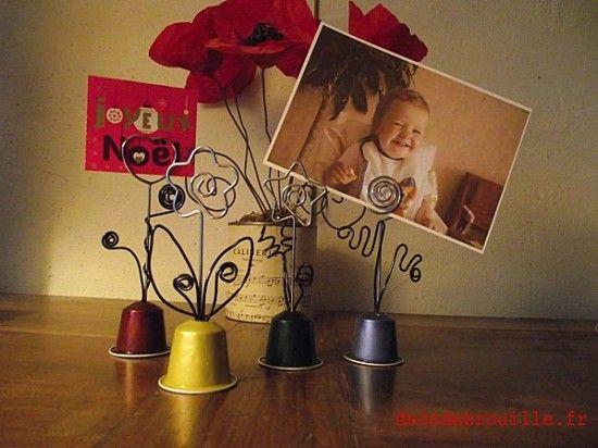 L'atelier du mercredi : avec des capsules Nespresso