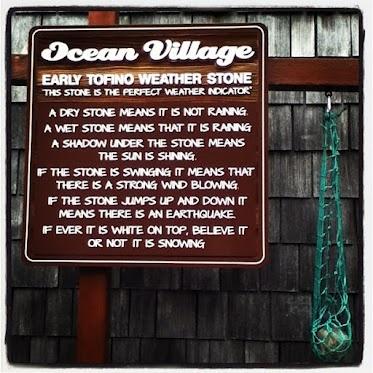 Our idea of predicting the weather in #Tofino