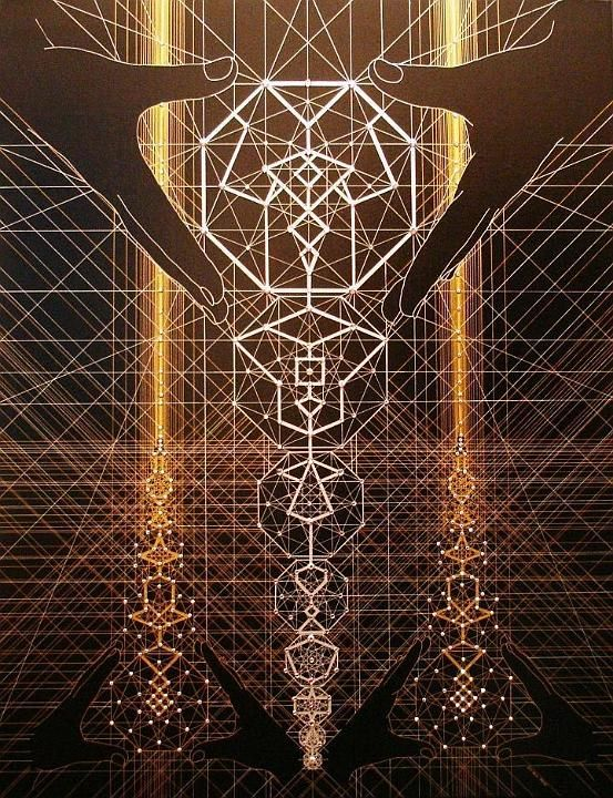 Joma Sipe creates breathtaking visionary art with influences in magick, alchemy and sacred geometry.