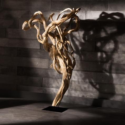 Tronc d'arbre décoratif sur pied | Artemano