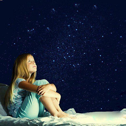 kit plafond ciel étoilé, créez un ciel étoilé de plus de 10 m² Sans électricité, Sans étoiles en plastiques ni Leds