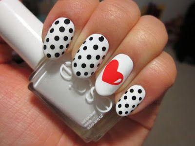 15 ideas para decorar uñas en San Valentin   La decoracion de uñas
