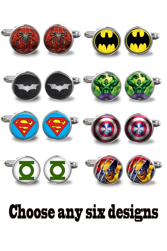 Wedding Cufflinks Special Offer  Superhero by ExpressionsJewellery, $80.00