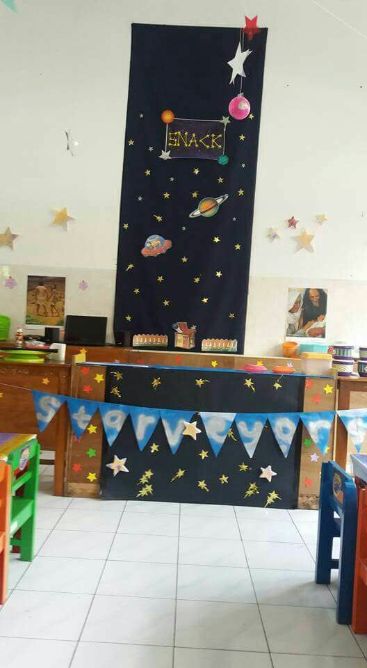 Snack station on VBS Galactic Starveyors