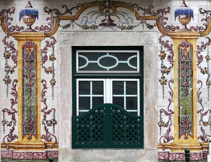Lisbon typical window