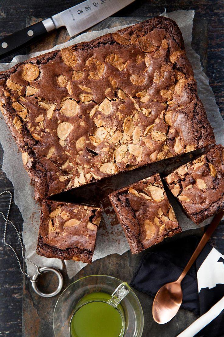 White and Dark Chocolate Brownie Recipe - Angela Casley makes a chunky chocolate…