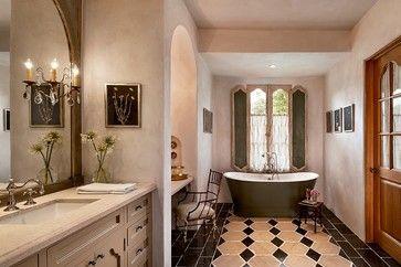 Paradise Valley Country Club Masterpiece mediterranean bathroom